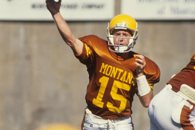 832b4a33f Dickenson returns to celebrate Hall of Fame induction - University of  Montana Athletics