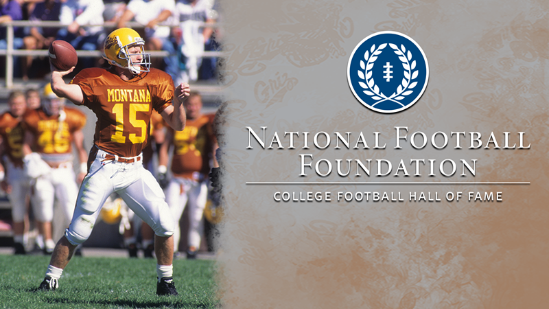 pretty nice dbb87 2aed9 Dave Dickenson Set for Sept. 22 NFF Hall of Fame On-Campus ...