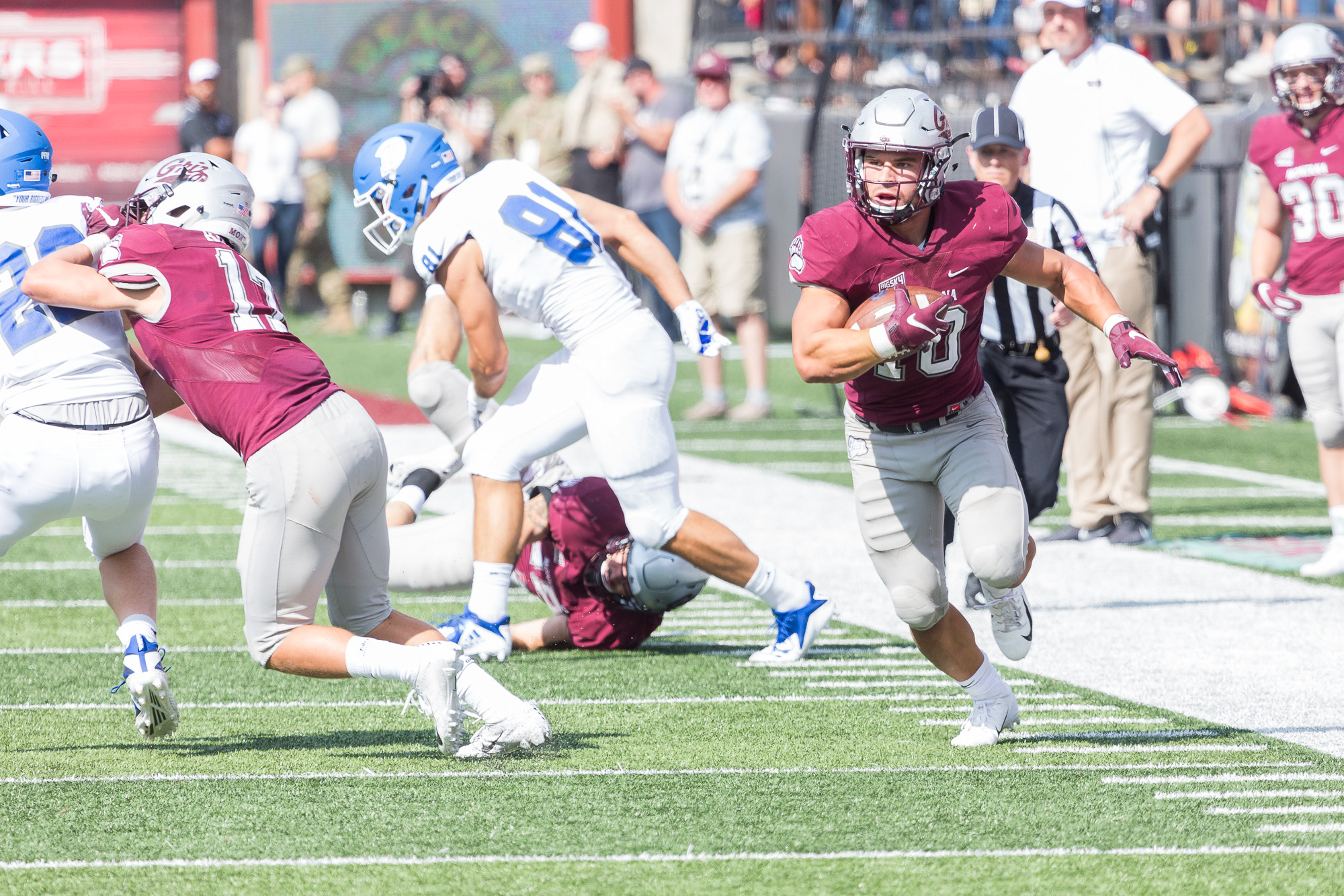 15 Griz Head East For First Road Test University Of Montana Athletics